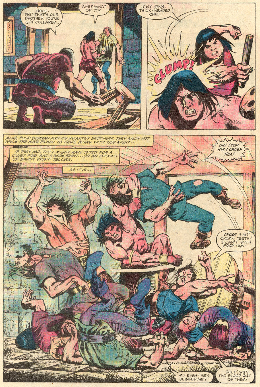 Conan the Barbarian (1970) Issue #137 #149 - English 11