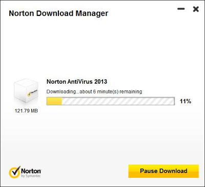 Norton Antivirus 2013 - Download Manager