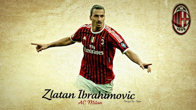 Best Zlatan Ibrahimovic -A.C. Milan HD Wallpapers
