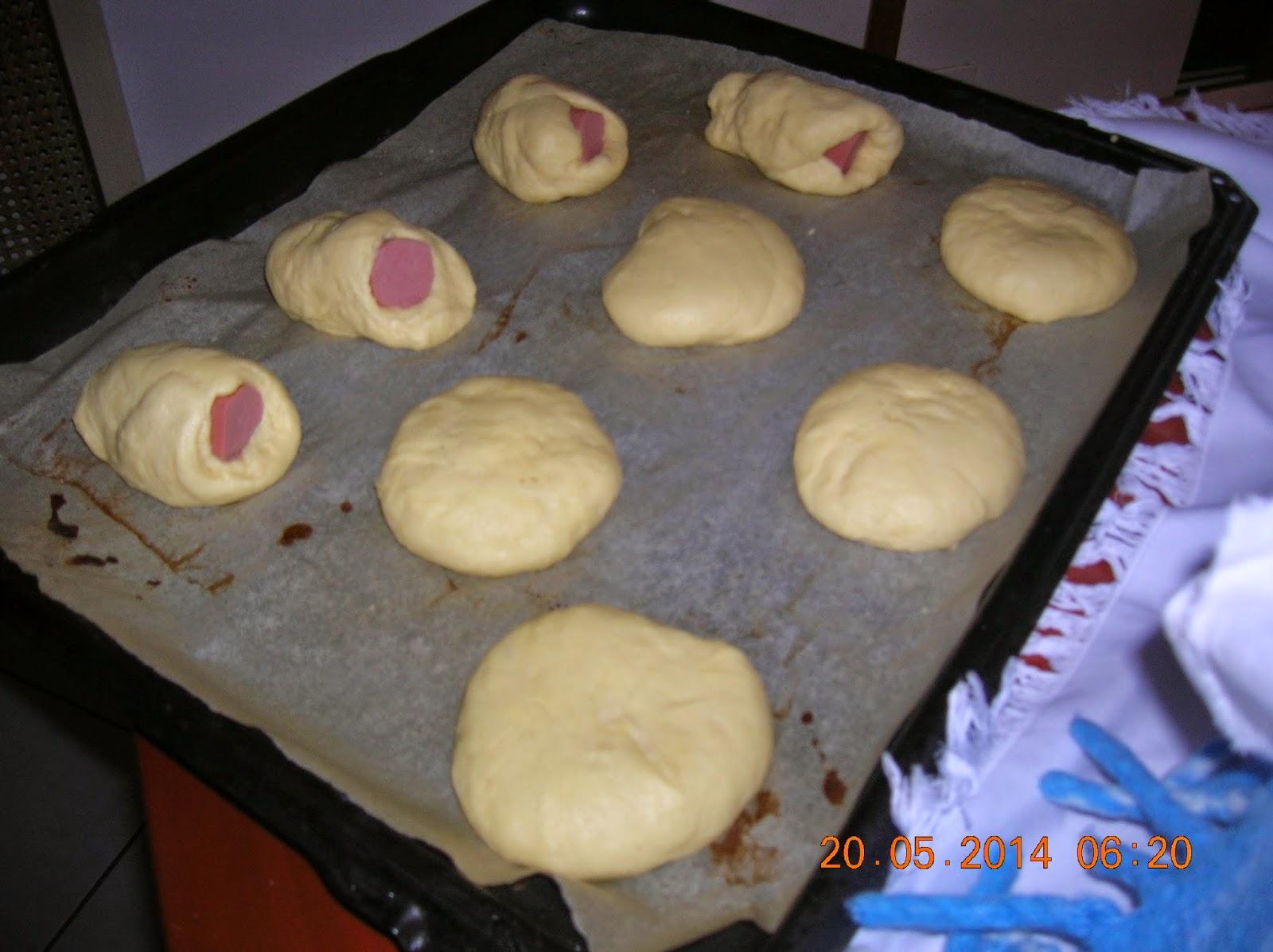 cuscinetti golosi  e panini per  hamburgher- ciambellone  farcito