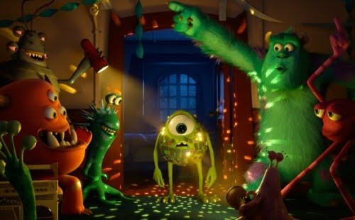Pelicula Animada Universidad de Monstruos (Monsters University) Video Online en Español Latino 3D Full HD
