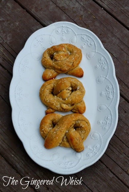 Quick Sourdough Pretzels (The Gingered Whisk)