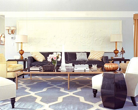 Dorothy Draper Chairs The Pink Doormat: Hollywood Glamour Inspired Living Room