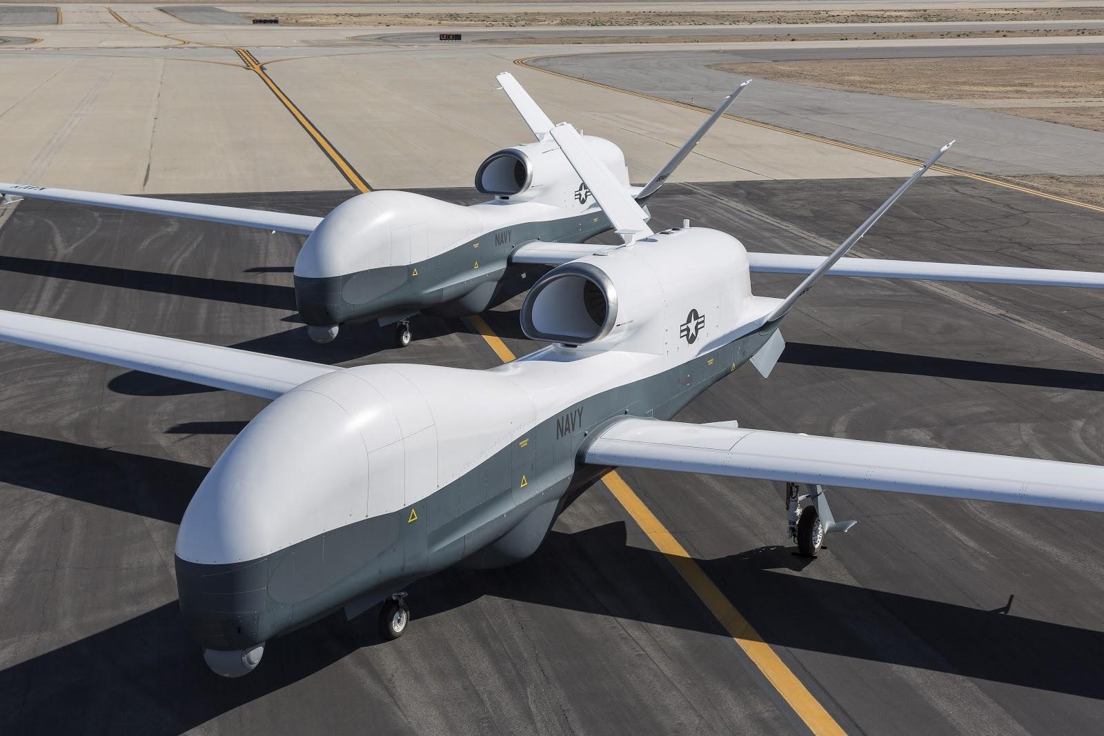 Mq 4c Triton Maritime Surveillance Unmanned Aircraft