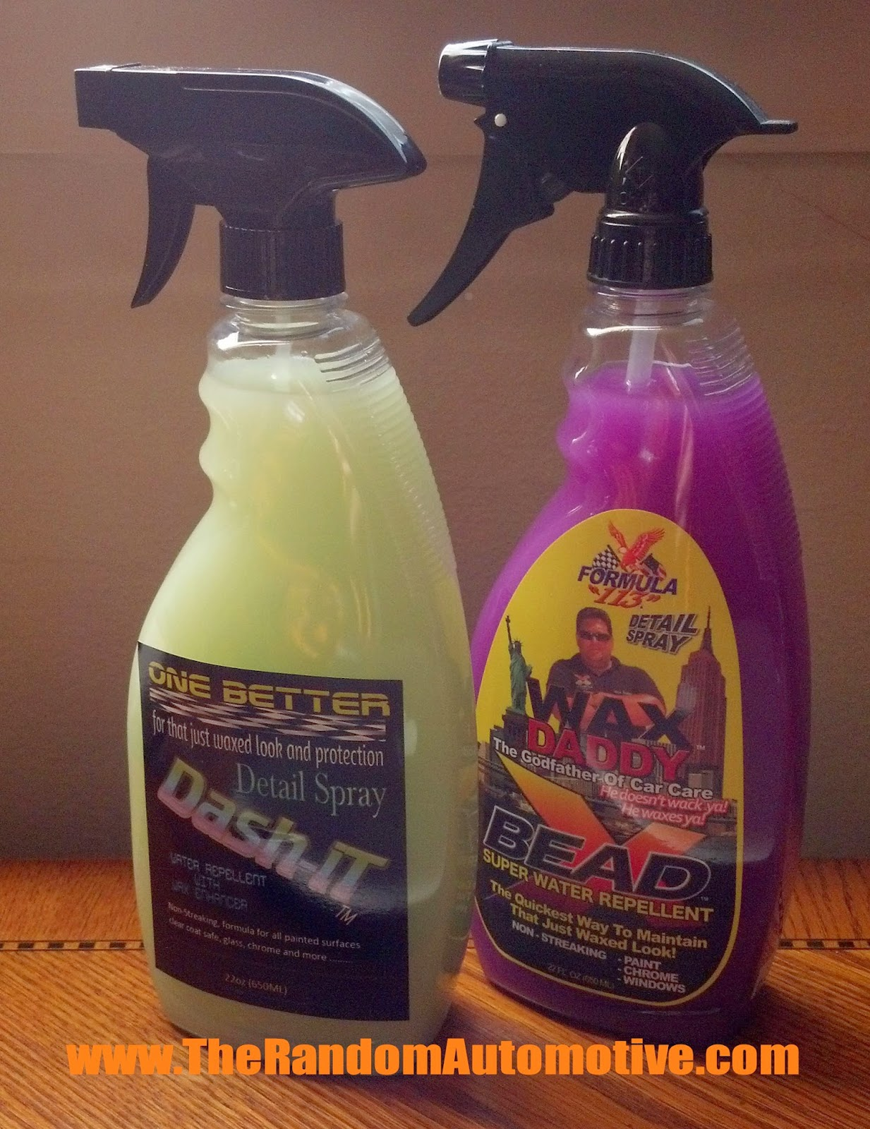 one better car care products dash-it bead x wax daddy spray detailer random auto review