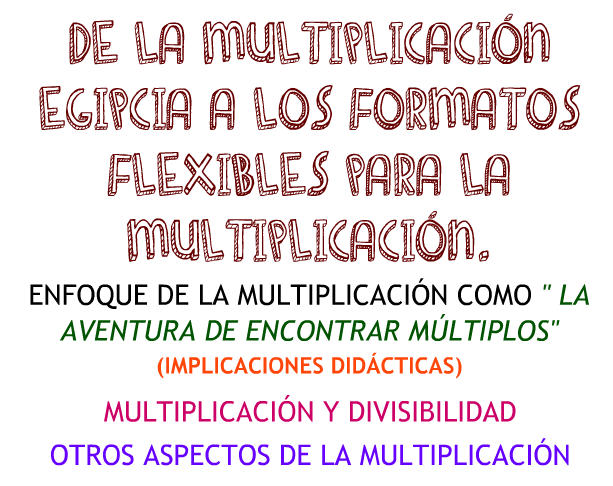 Multiplicación basada en números
