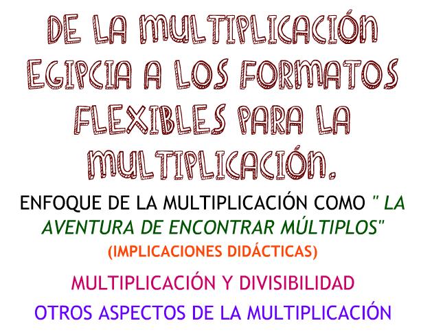Multiplicación basada en números
