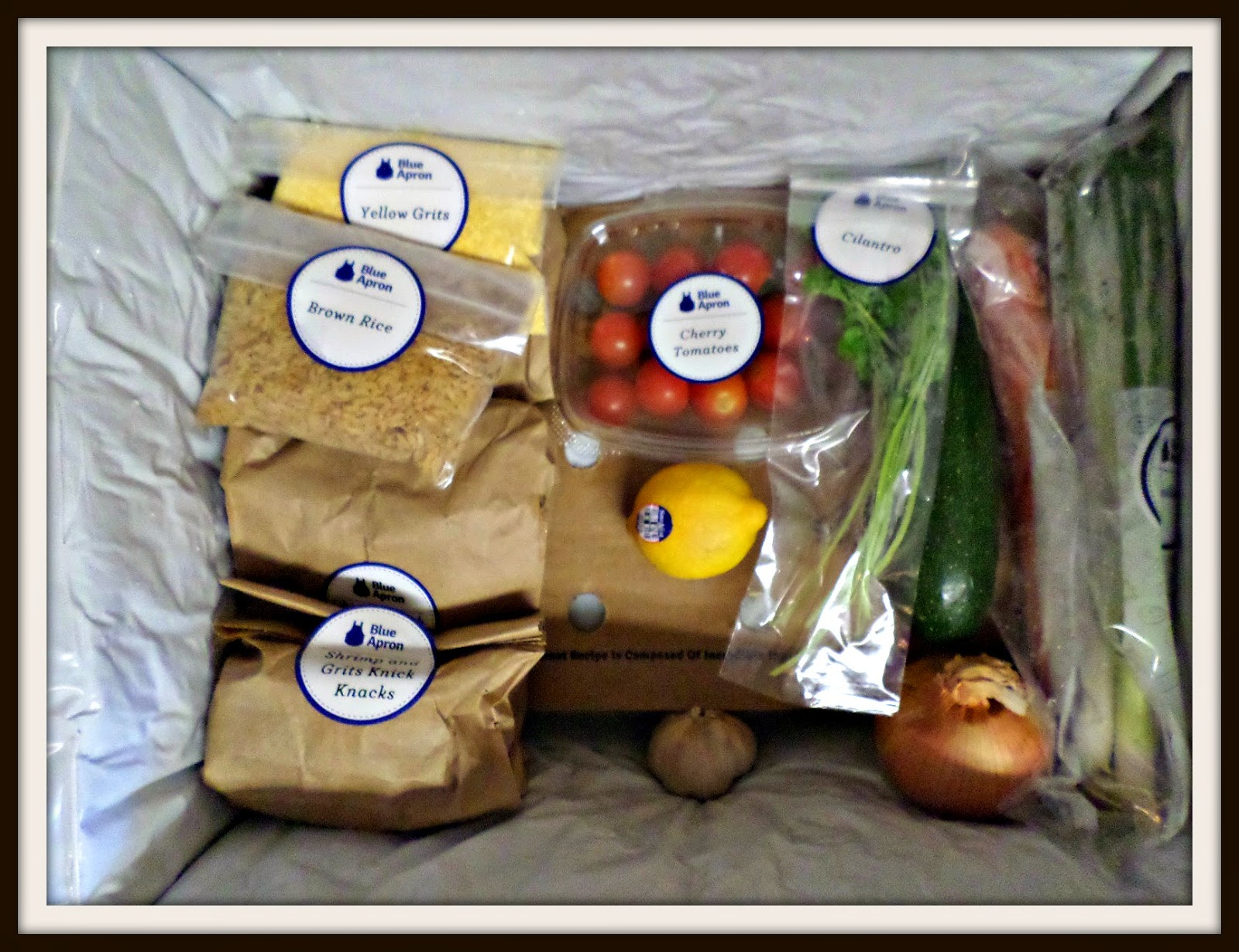 Blue apron yellow grits - Blue Apron Always Sends You All Of The Fresh Ingredients Meat Seafood Condiments And Recipes That You Need To Make The Dishes