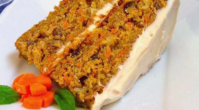 receta del pastel de zanahoria casero