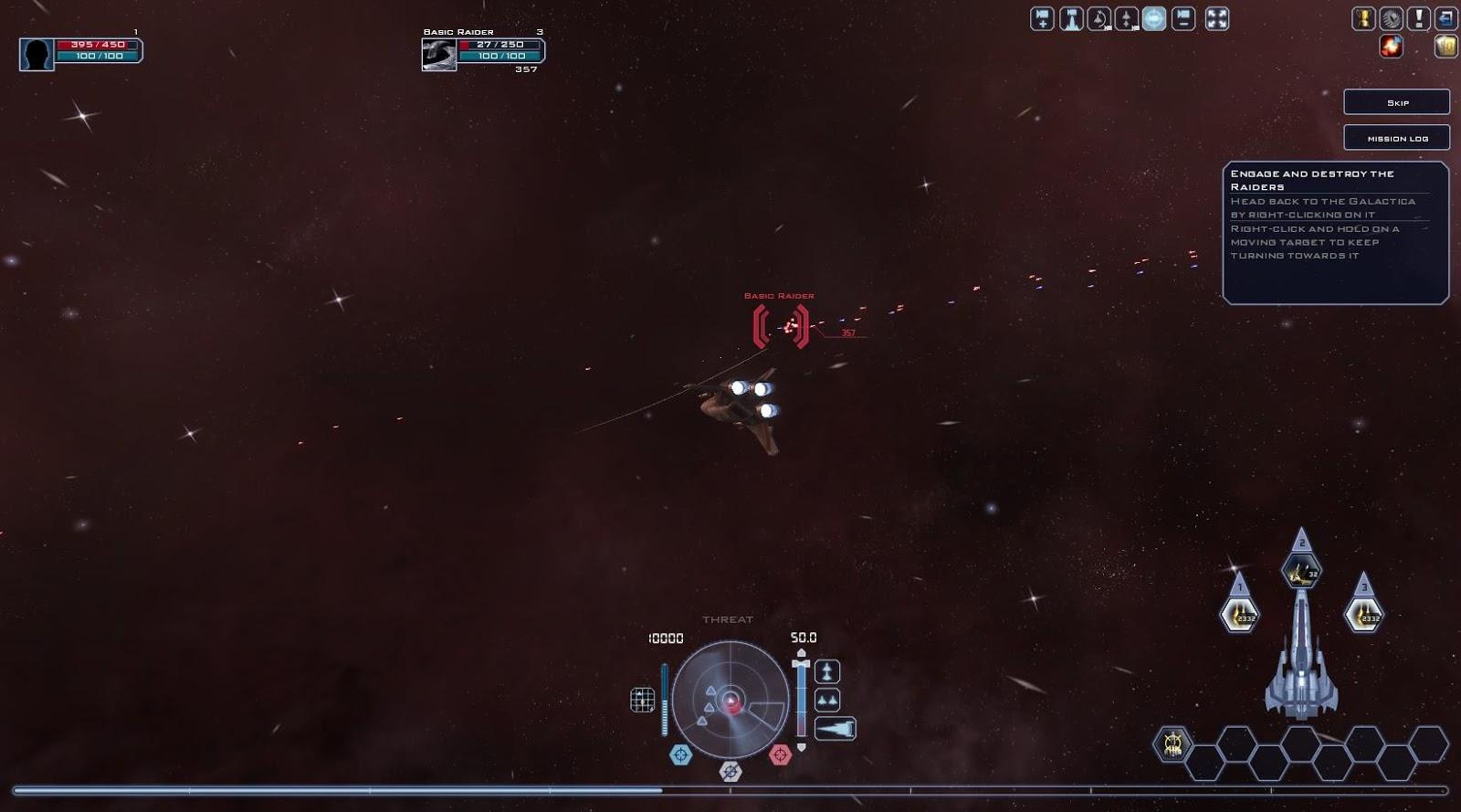 Battlestar Galactica Online - Killing a Raider