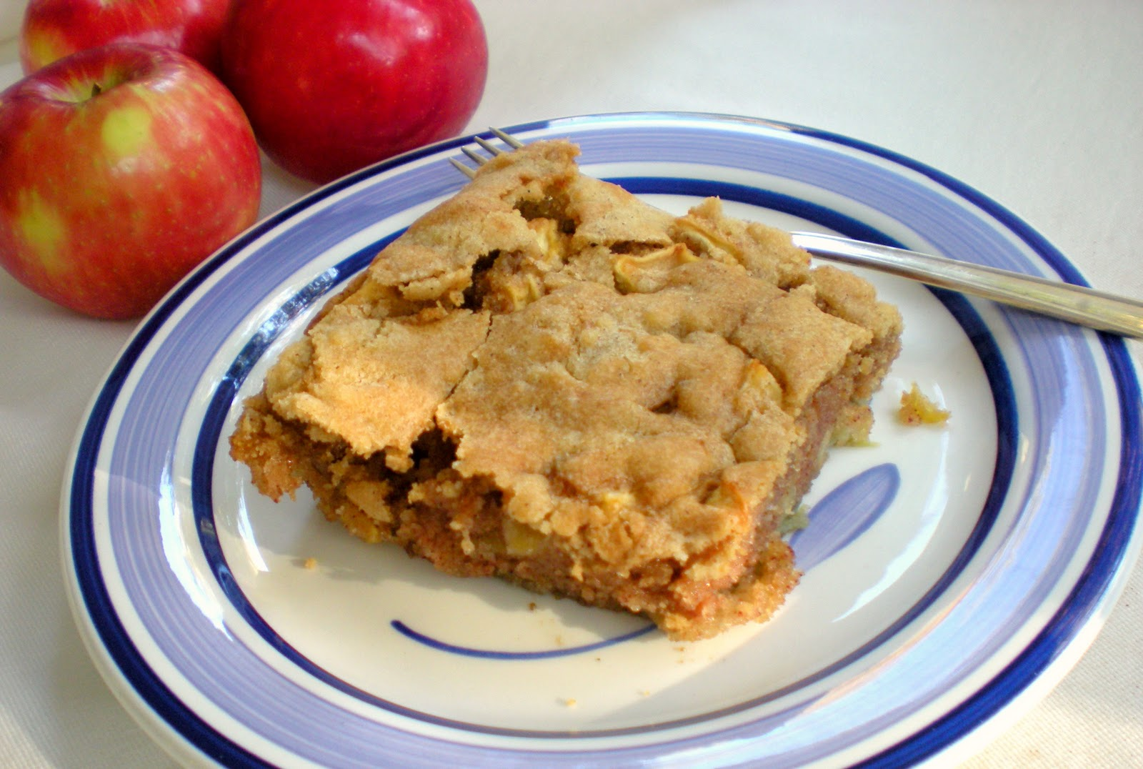 Cook and Her Books: Apple blondie, aka German apple cake