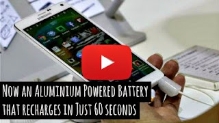 Scientists at Stanford University build an ultrafast rechargeable aluminium battery charges in a minute and is much more stable, inexpensive and safer compared to lithium powered batteries via geniushowto.blogspot.com science videos