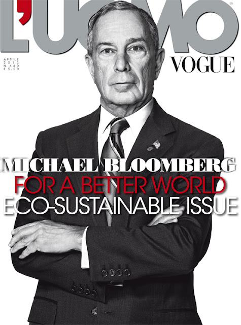 L'Uomo Vogue April 2013 Cover