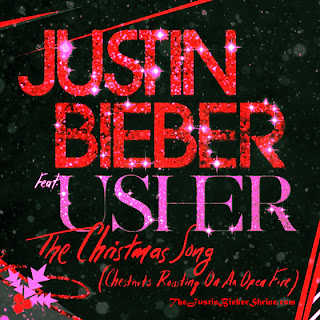 Justin Bieber feat. Usher - The Christmas Song (Chestnuts Roasting On An Open Fire) Lyrics