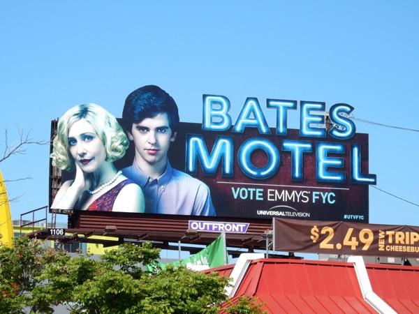 Bates Motel Emmy 2015 special extension billboard