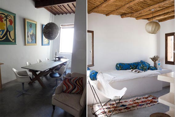 Stylish holiday let in morocco your home is lovely for Modern house holiday lets