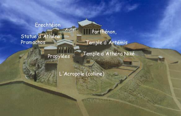 Architecture histoire patrimoine l 39 architecture de la for Architecture grec