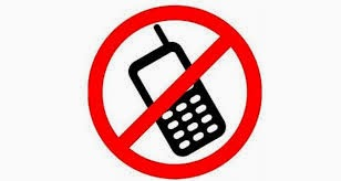 No 'phones allowed