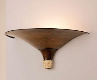 lampara colonial pared, lampara de bodega, lampara de aplique