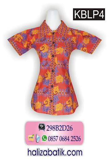 085706842526 INDOSAT, Pakaian Batik Modern, Blouse Batik Modern, Batik Wanita, KBLP4, http://grosirbatik-pekalongan.com/blus-kblp4/