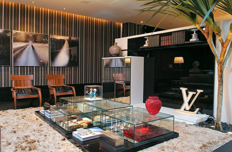 Sala con paredes decoradas salas con estilo for Paredes decoradas com ceramicas rusticas