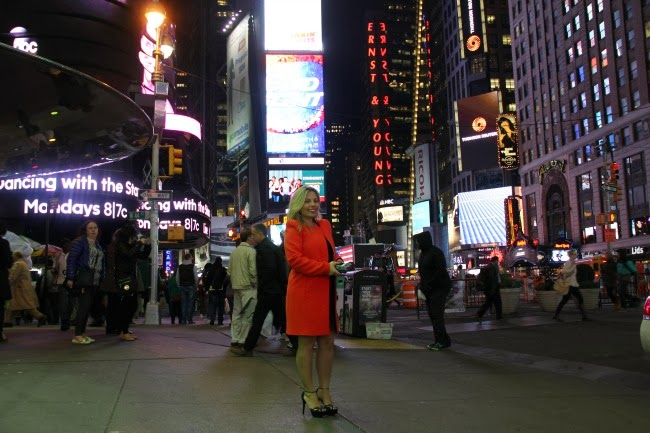 Ana In Style in Times Square