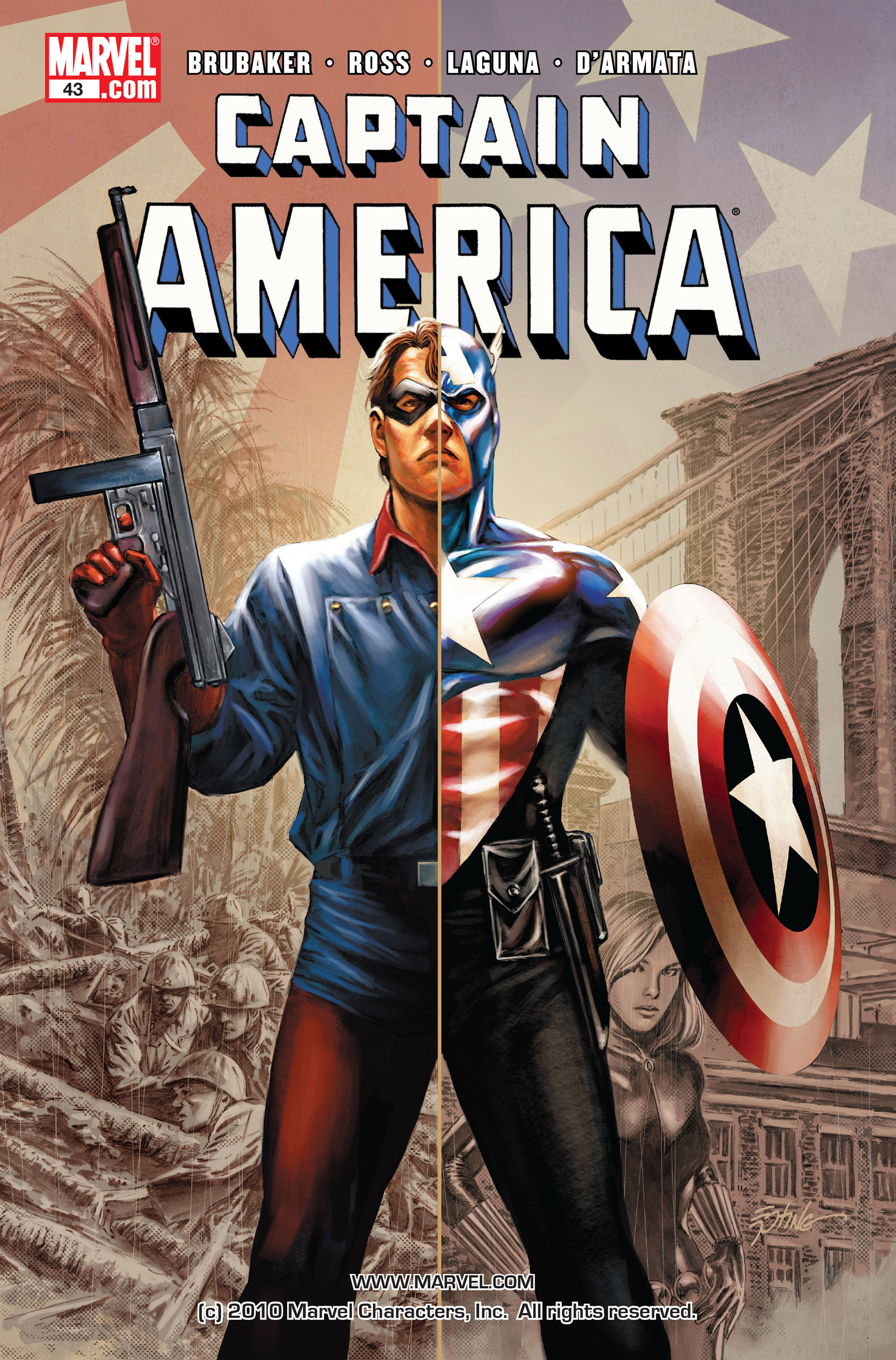 Captain America (2005) Issue #43 #43 - English 1