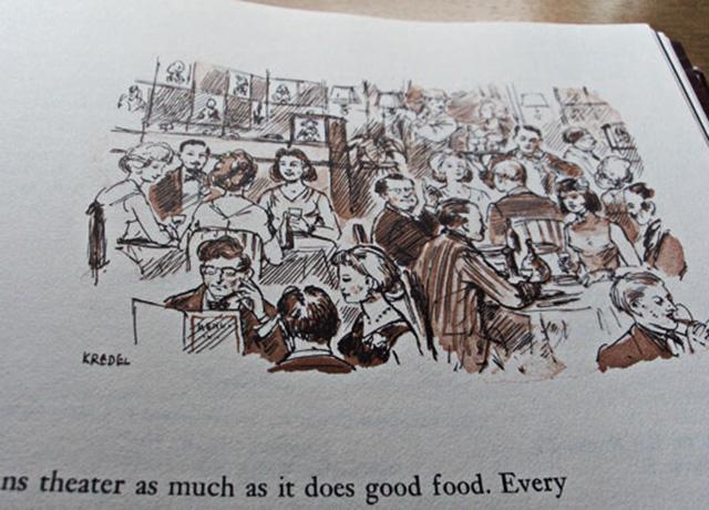 Ejemplo de ilustración del libro, obra de Fritz Kredel.