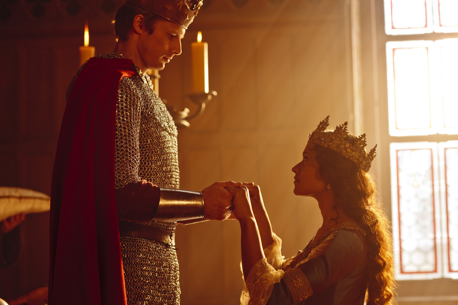 Poema incompleto  King Arthur And Guinevere