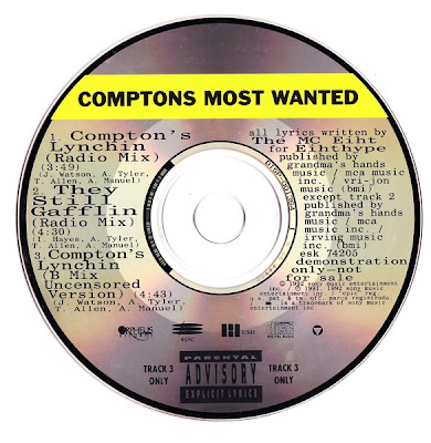 Compton's Most Wanted – Compton's Lynchin' (Promo CDS) (1991) (320 kbps)