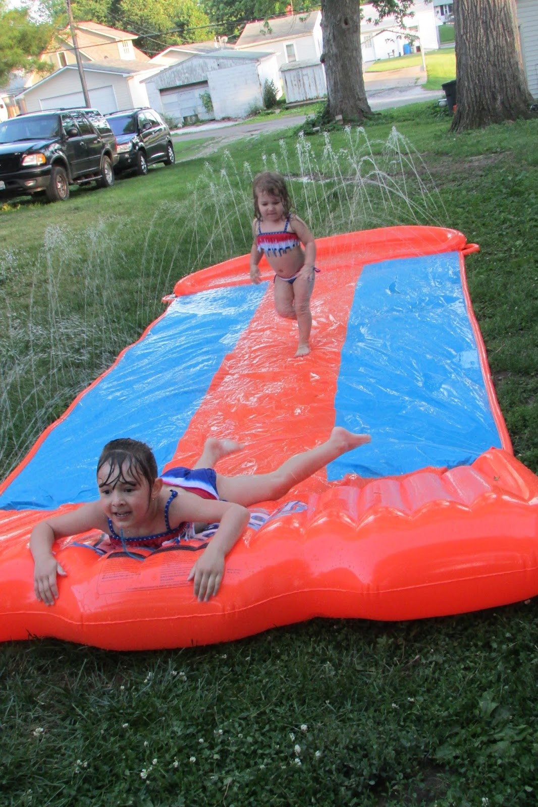 heck of a bunch h20go backyard water slide review
