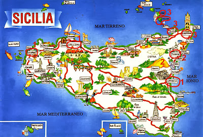 Италия. Сицилия