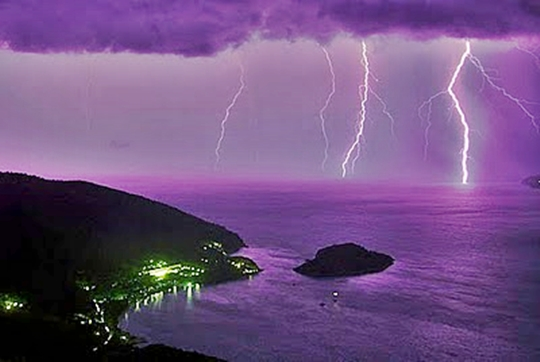 Tempestades de raios