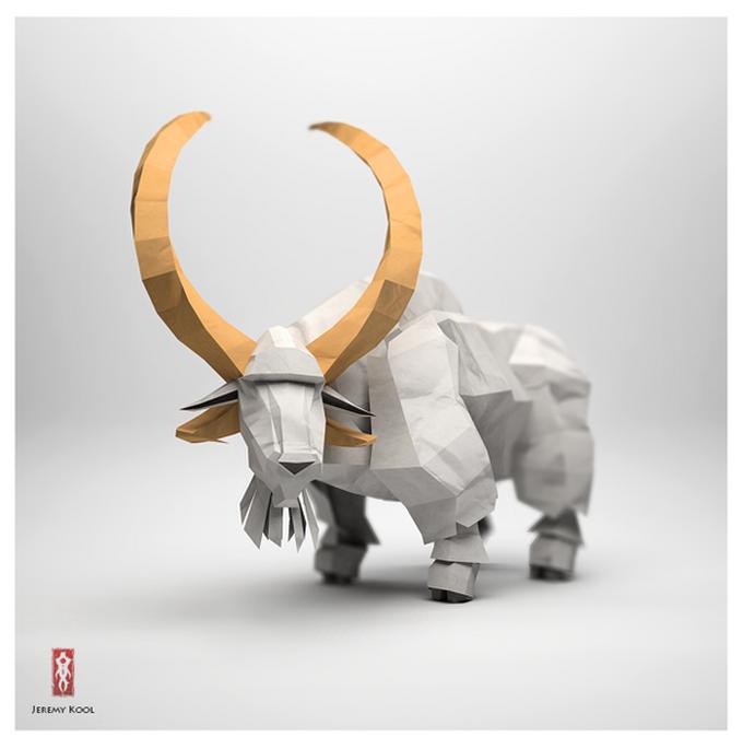 origami animals design arena