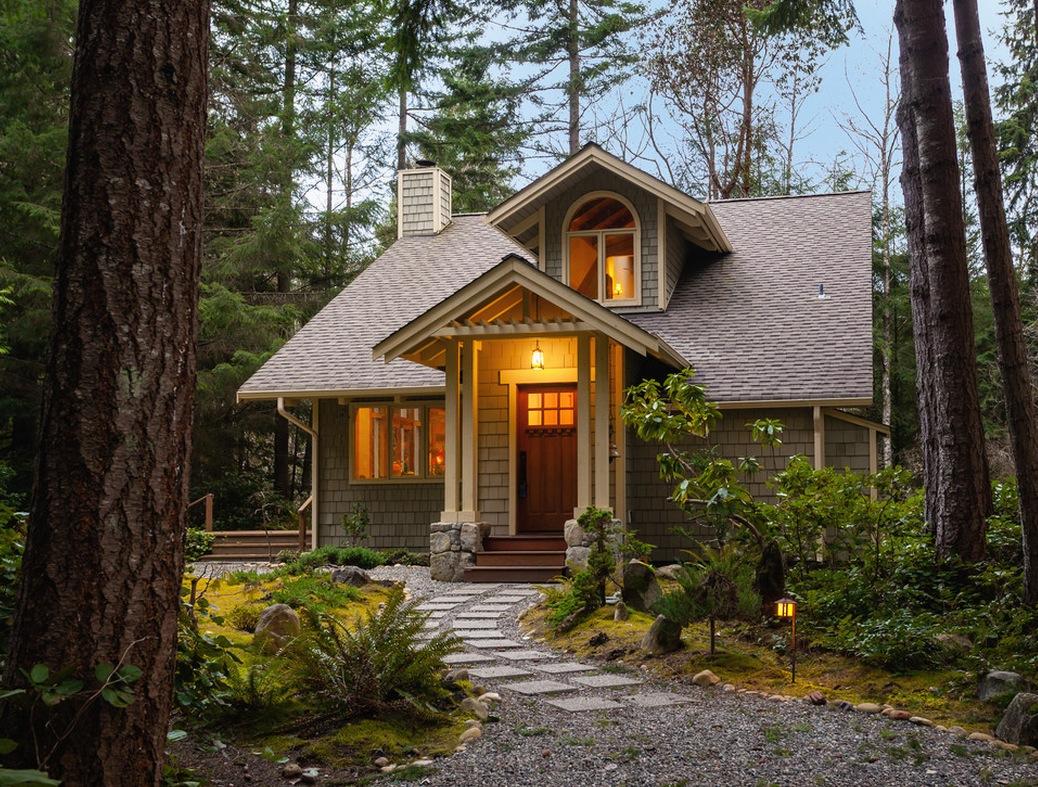 50 fotos de fachadas de casas modernas peque as bonitas for Pintura de exteriores de casas pequenas