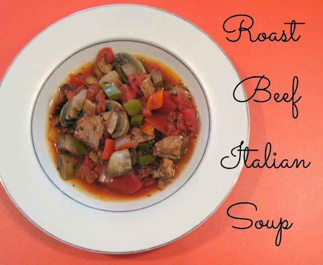 Roast Beef Italian Soup