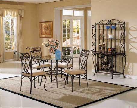 classic minimalist dining table set model
