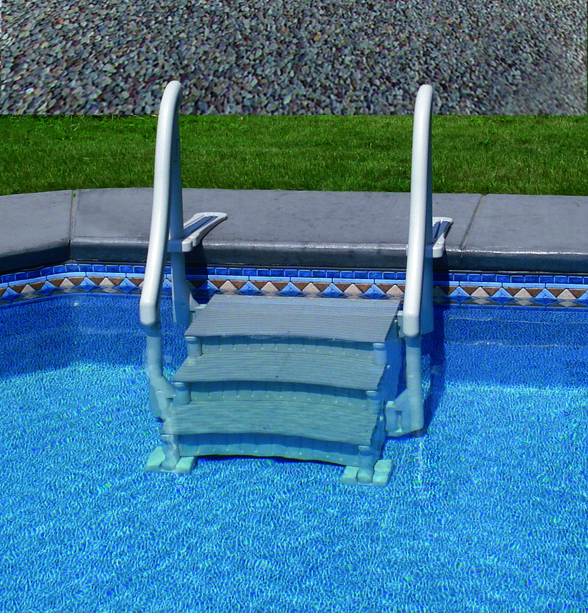 replacement handrail wedding cake pool steps pin ground pool steps the industry s largest strongest