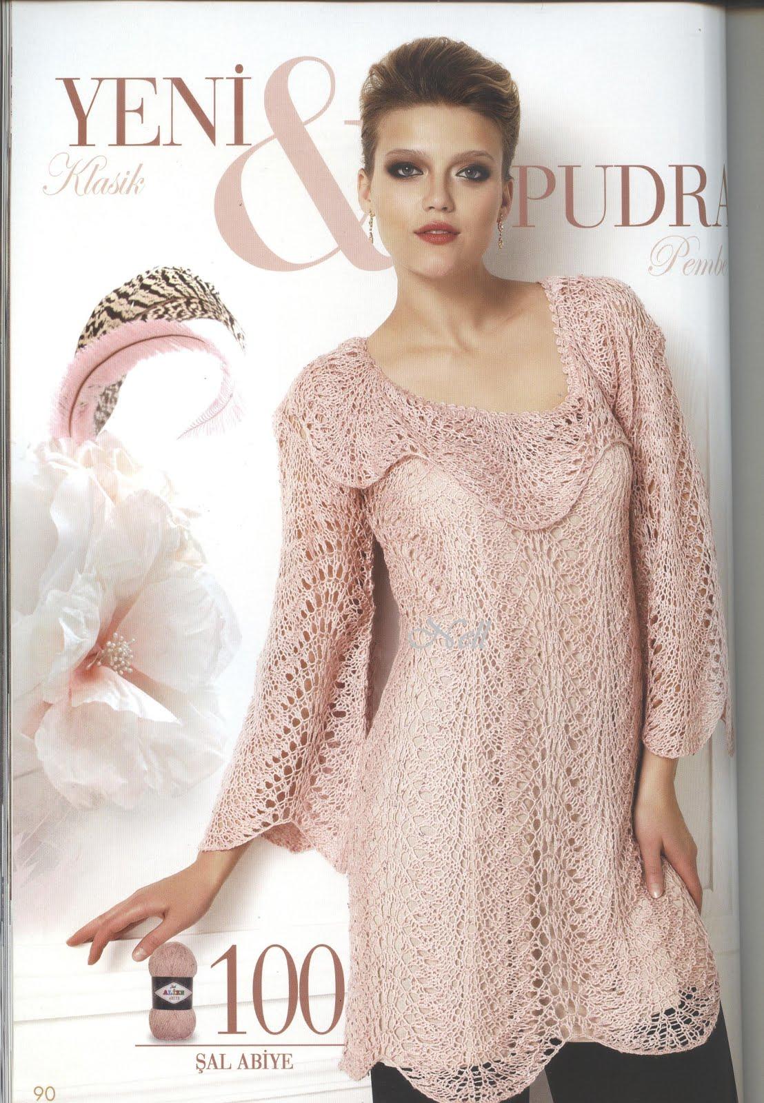 tunique tricot modele gratuit