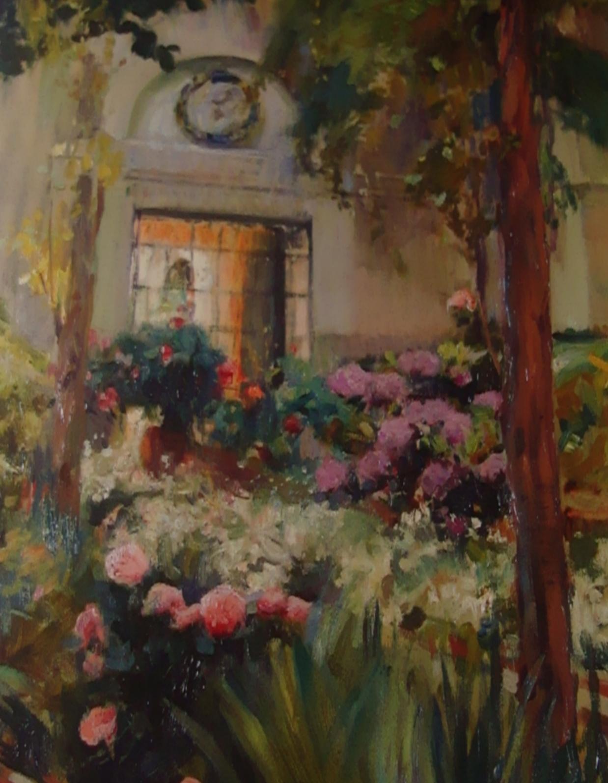 Pinturas impresionistas modernistas y neoimpresionistas for Casa y jardin tienda madrid