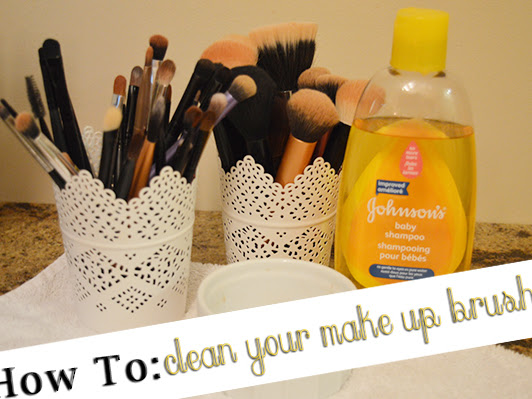 How To: Clean Your Make Up Brushes