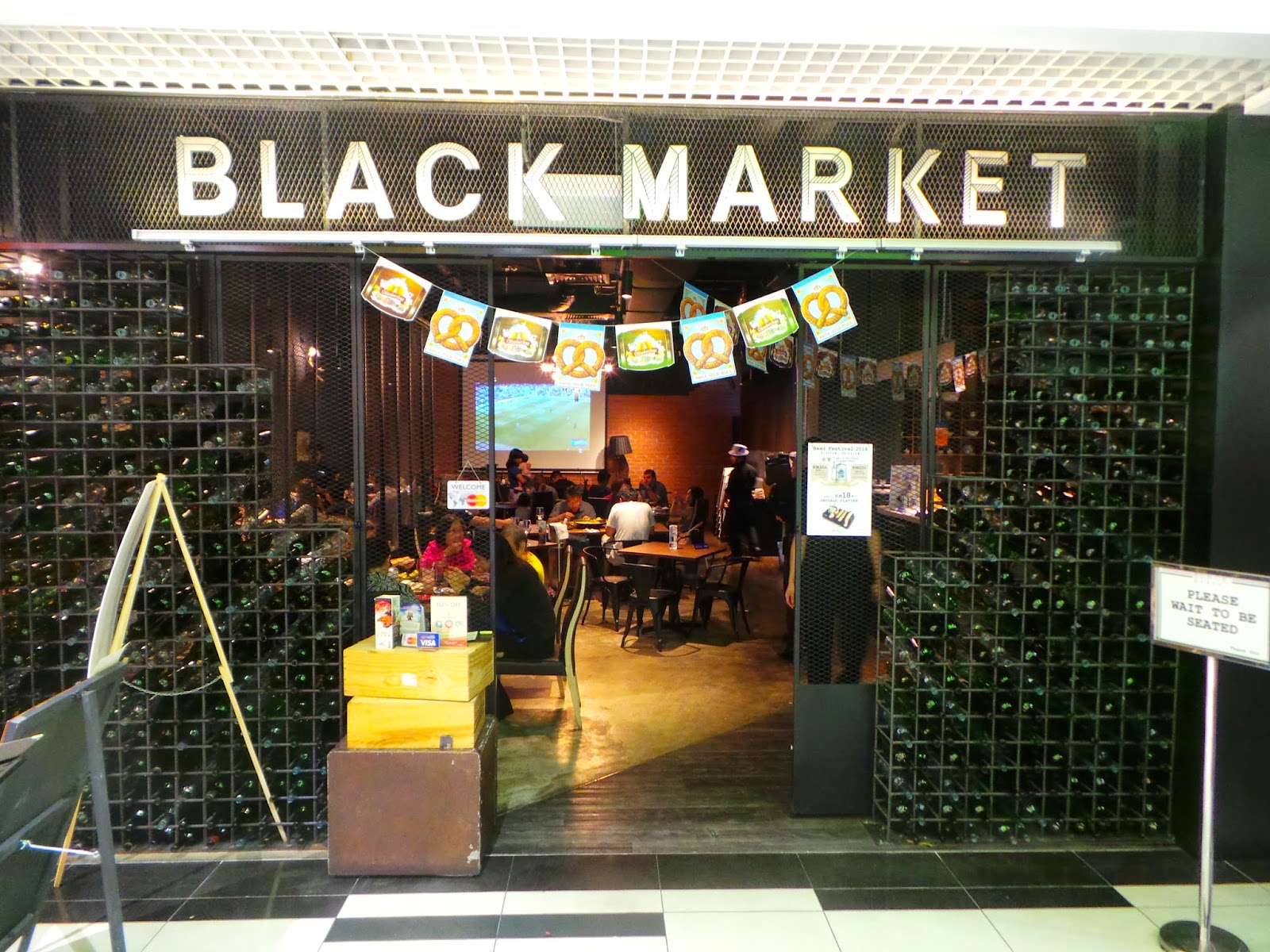 black market We believe that good food shouldn't be overly complex and our casual atmosphere reflects that attitude we'll welcome you in jeans or a suit.
