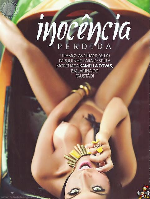 Kamilla Covas nua em ensaio sensual na Sexy