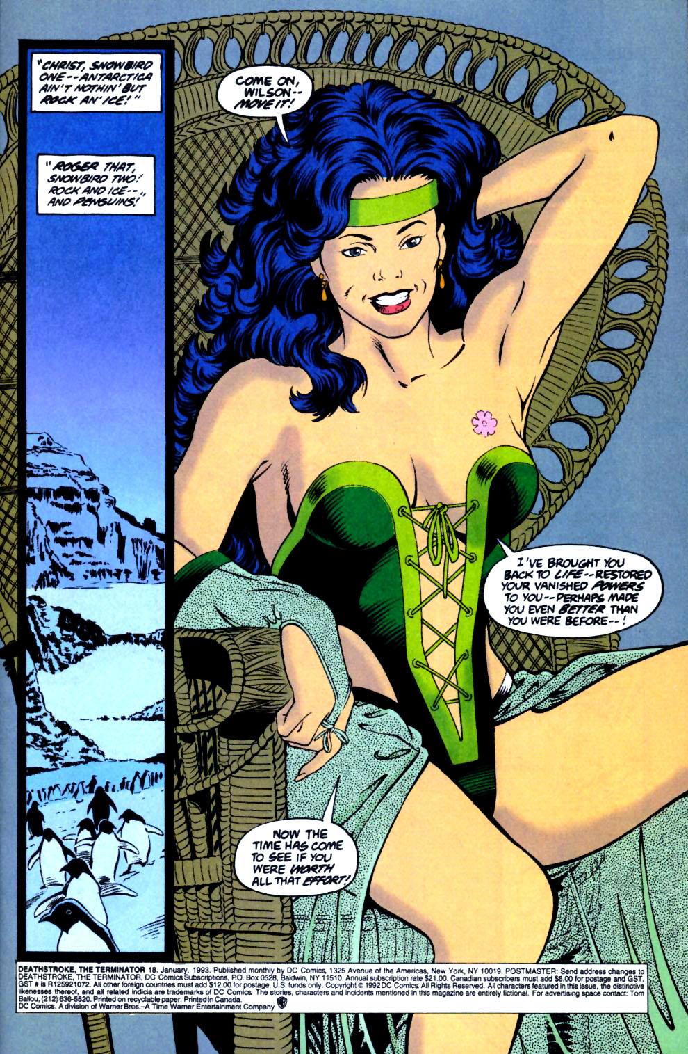 Deathstroke (1991) Issue #18 #23 - English 2