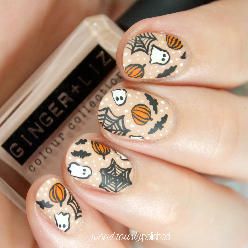 Wondrously Polished 40 Great Nail Art Ideas Halloween
