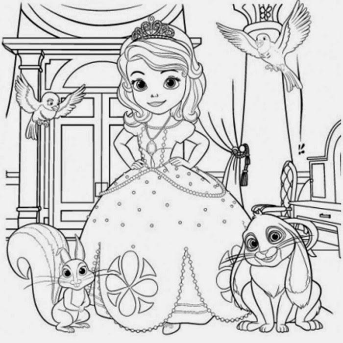 Amazon Princesse Sofia coloriage avec stickers