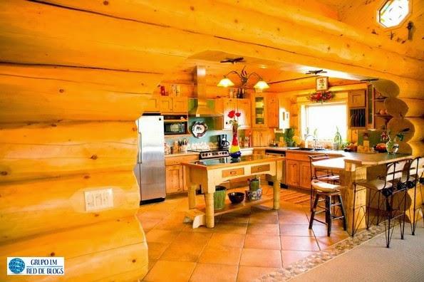 La madera para lograr un estilo muy especial en la cocina