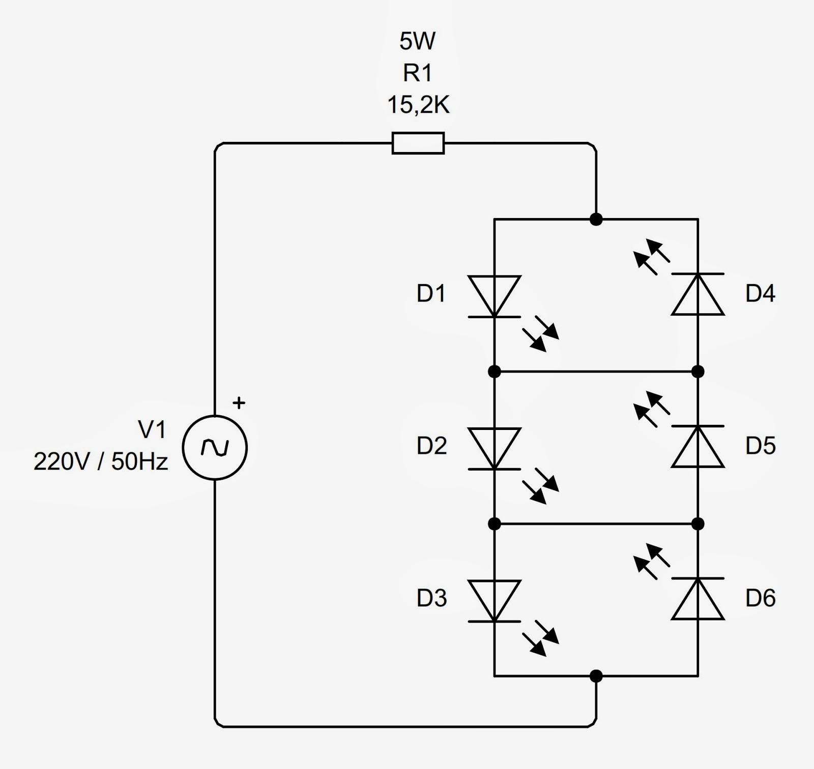 yiyo tsx electr u00f3nica  como conectar leds con 220v