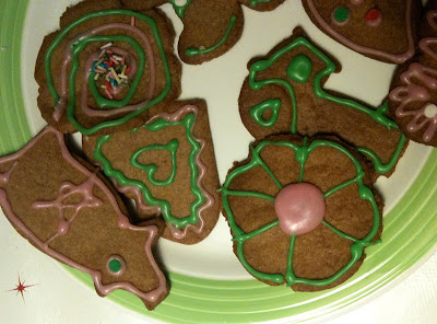 Gingerbread peyote cookie