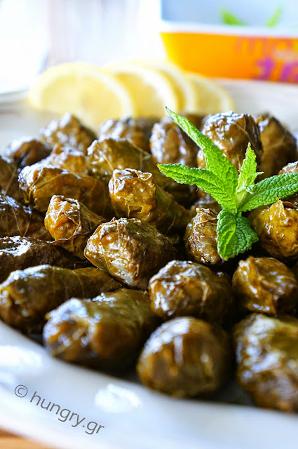 Stuffed Vine Leaves Lenten
